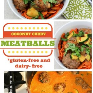 I can't wait to try this coconut curry meatball recipe from Fitnessista.com. It's packed with protein, Paleo and is cooked in less than 30 minutes!