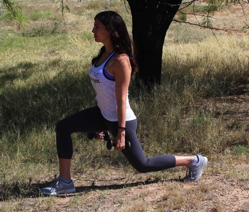 Lunge and wide row