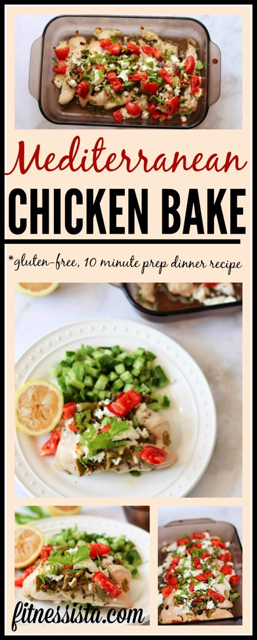 Mediterranean chicken bake easy dinner recipe