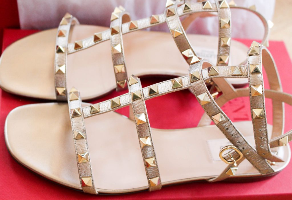 valentino rockstud sandals-2