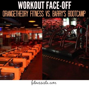 A side-by-side comparison of Barry's Bootcamp and Orangetheory. Which bootcamp-style workout reigns supreme? Check it out here! fitnessista.com