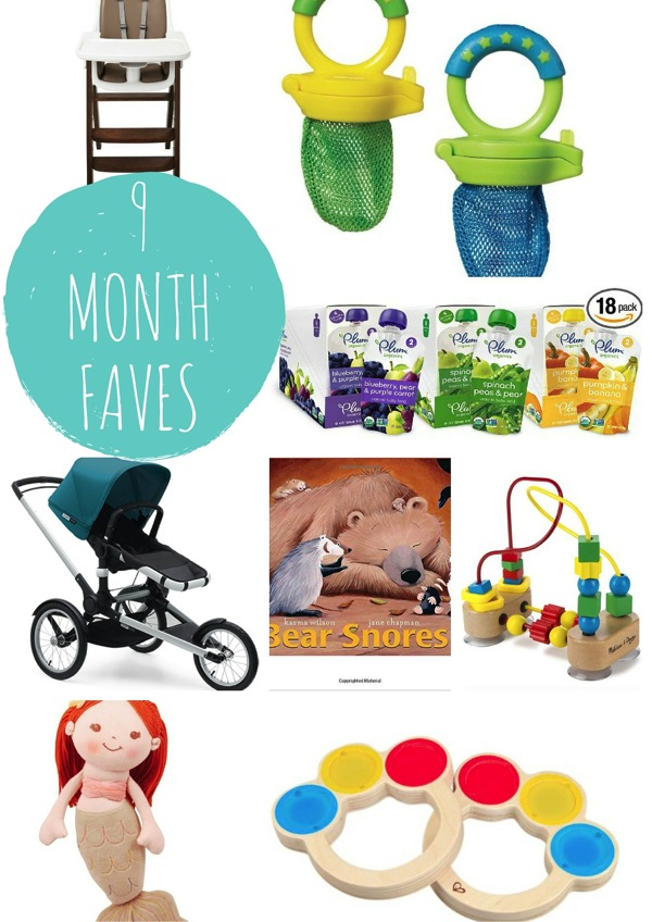 9 month baby faves