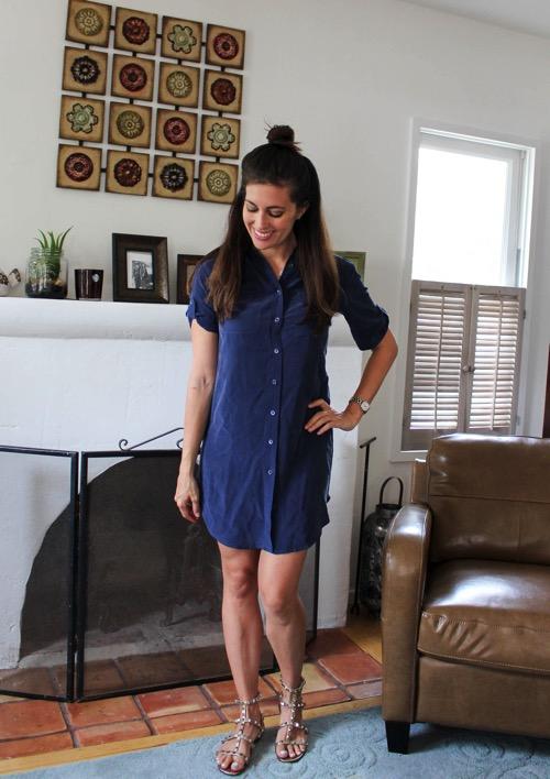 EQUIPMENT Payton Silk Shirt Dress