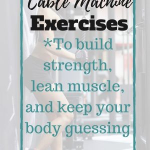 Cable machine exercises you can do to switch up your routine! Totally pinning this for my workout later.