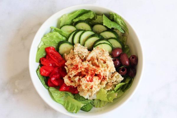 Hummus chicken salad 2