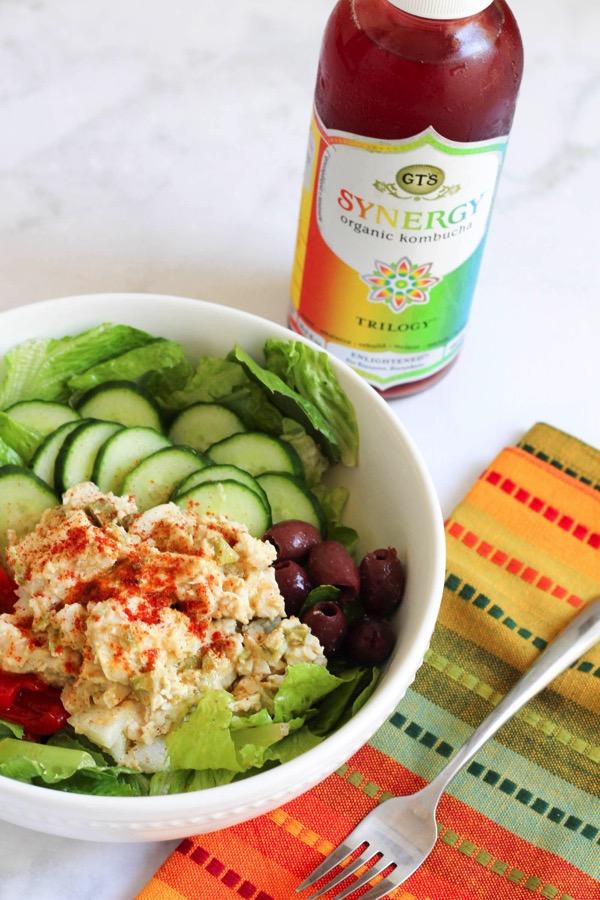 Hummus chicken salad 3
