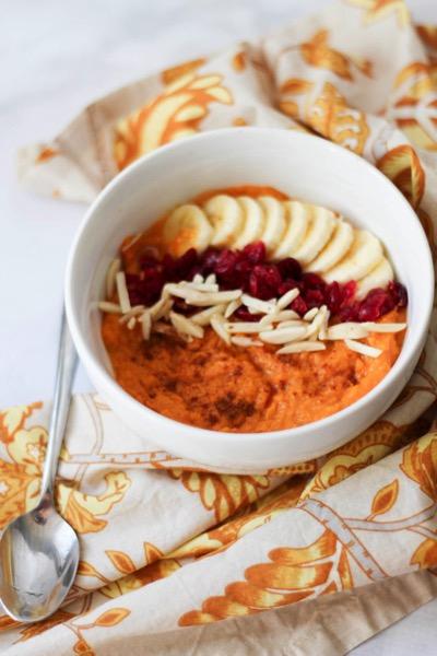 Sweet potato breakfast bowl 4