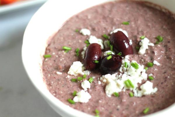 Kalamata olive dip