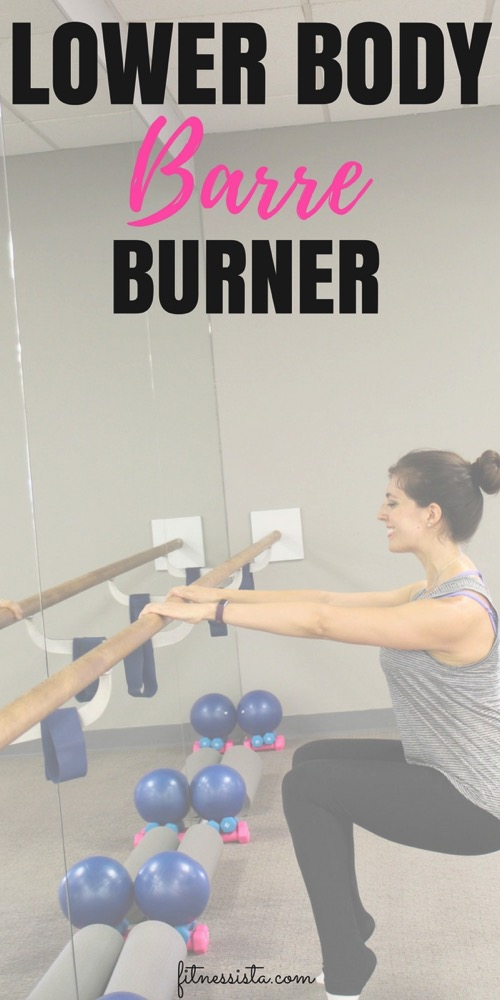 Lower body barre burner