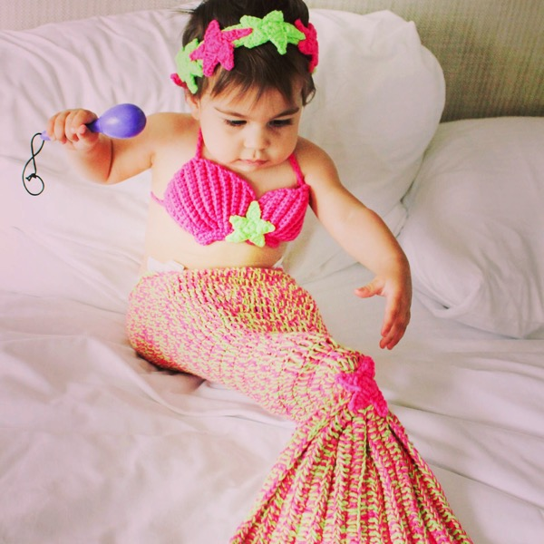 P the mermaid