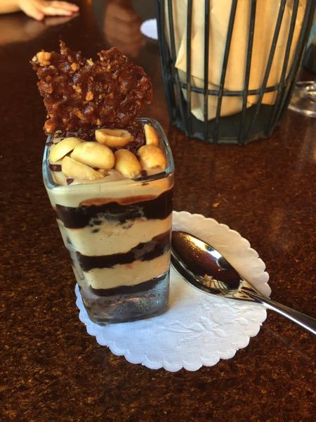 mini dessert at seasons