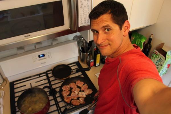 Pilot cooking blue apron 2