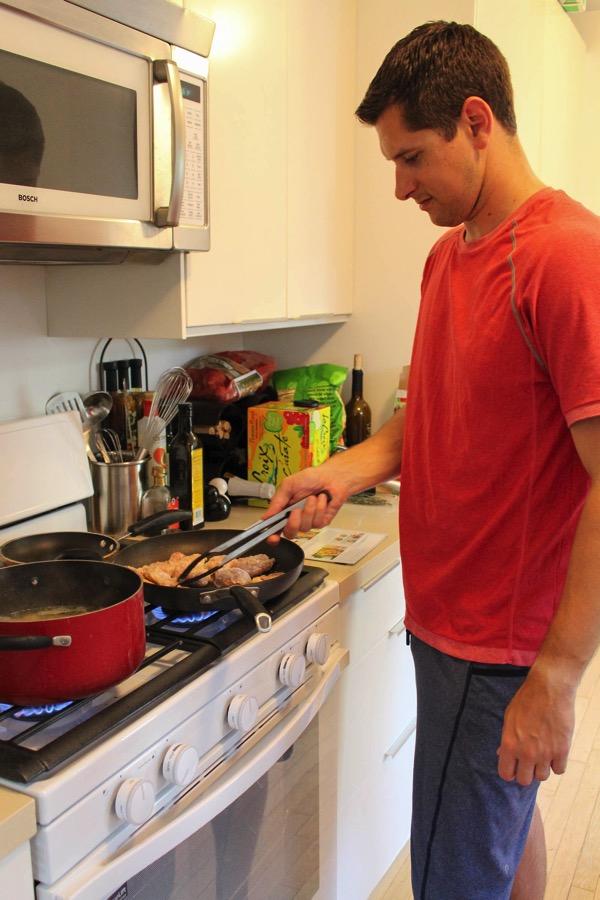 Pilot cooking blue apron 3