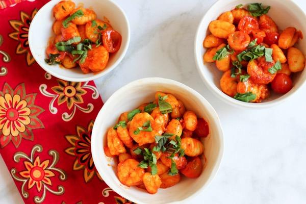 Shrimp gnocchi 2