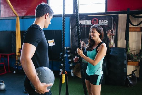 Partner workout in Hylete