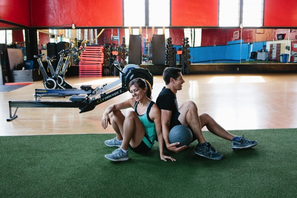 Fun partner workout in Hylete