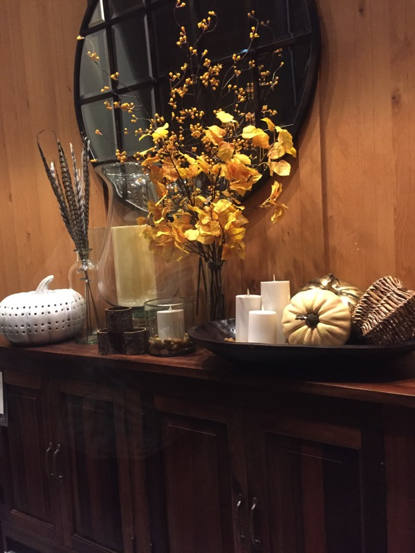 fall side table
