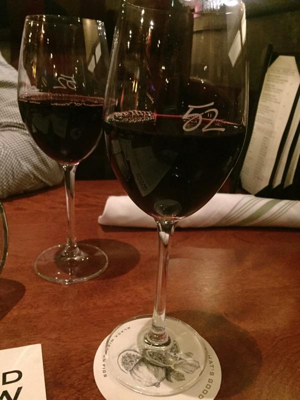 wine at date night