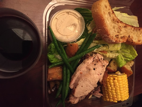 Tender Greens takeout