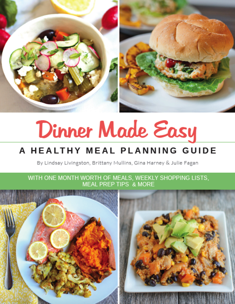 Dinner made easy - a healthy meal planning guide