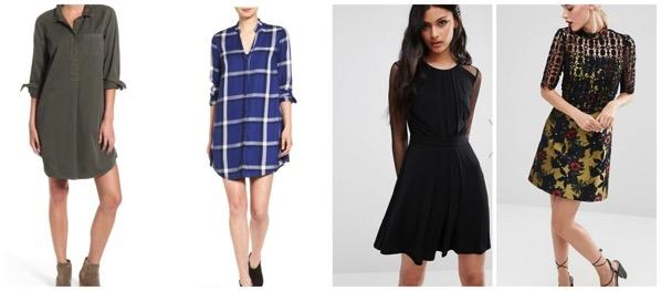 capsule wardrobe dresses for fall 2016
