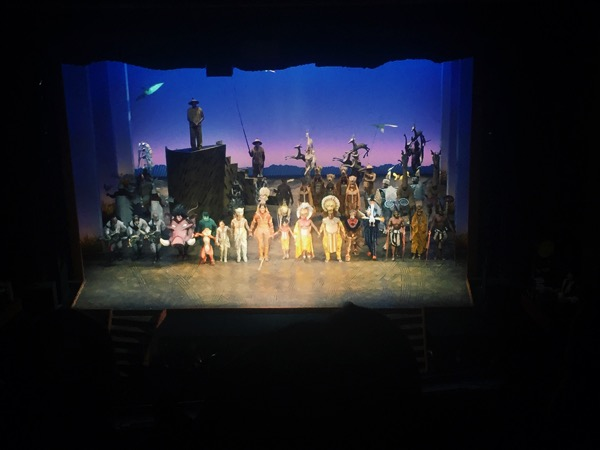 Lion king final bow
