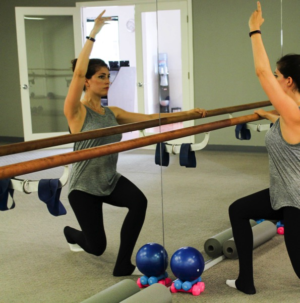 Barre workout this week