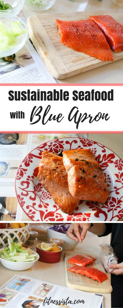 Sustainable Seafood with Blue Apron