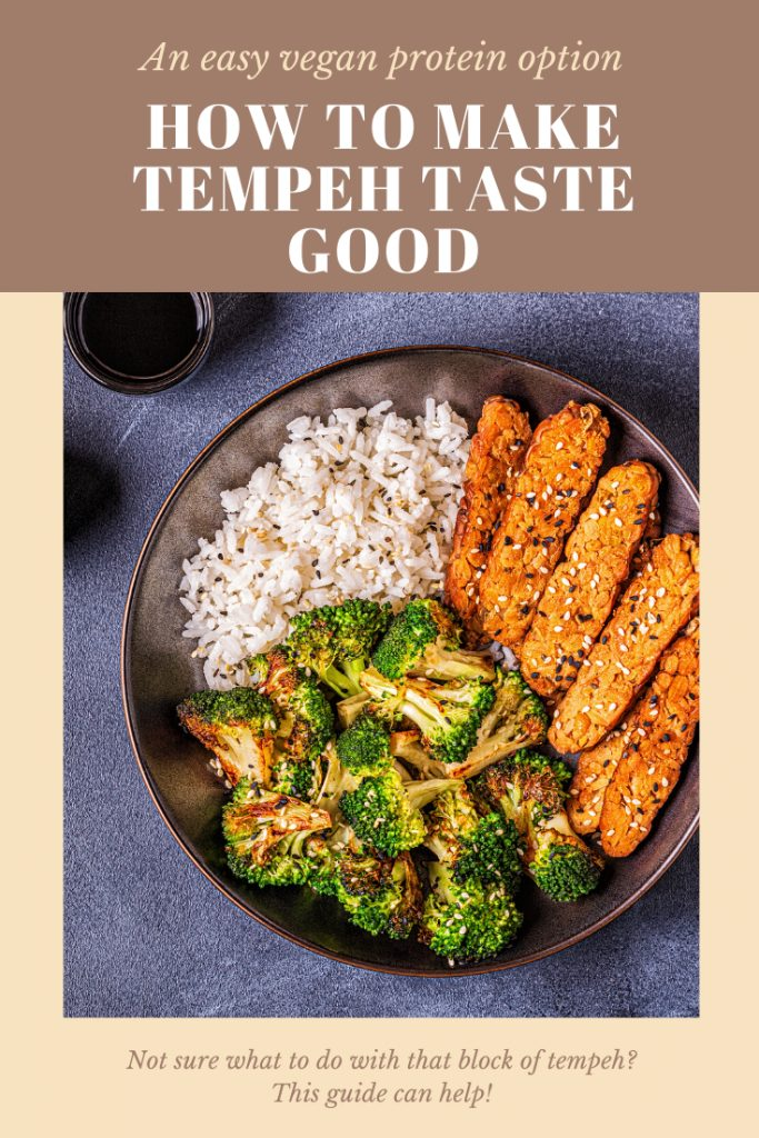 Tips on how to make tempeh taste good. fitnessista.com