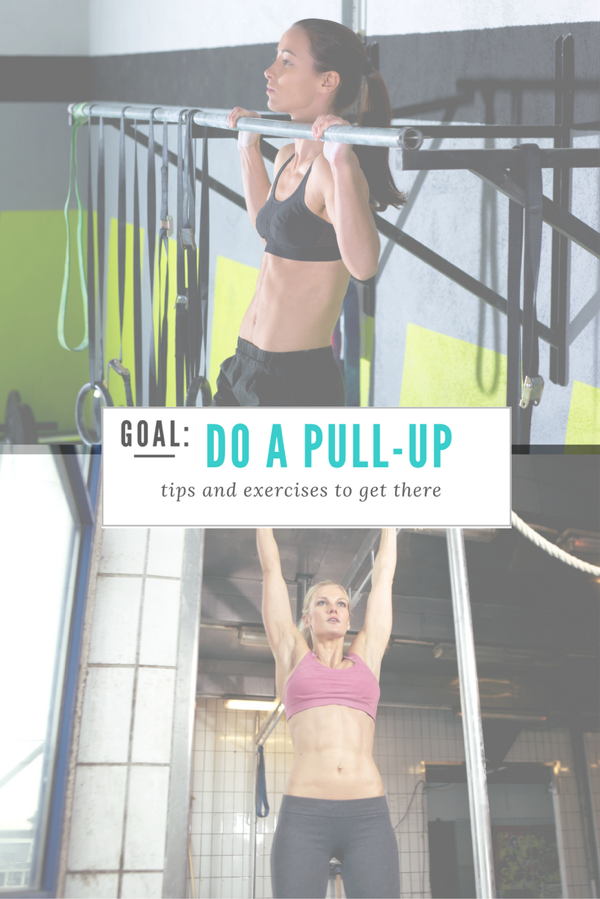 GOAL do a pullup. Tips and exercises to get there.
