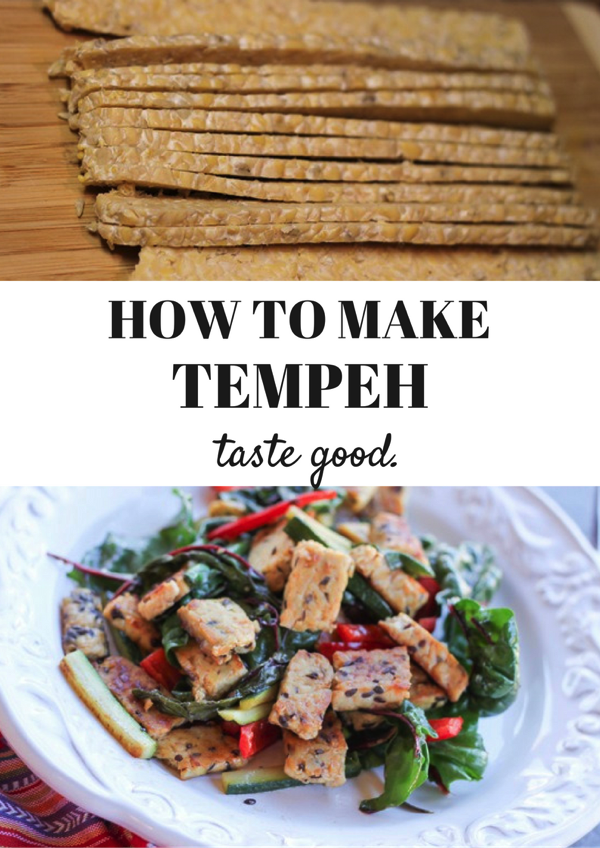 HOW TO MAKE tempeh taste good