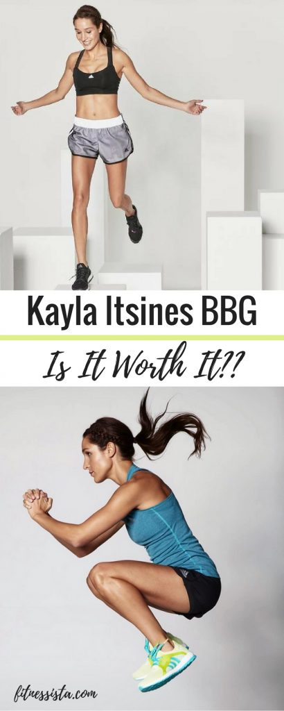 Kayla Itsines BBG - Is it Worth It? A review of the Bikini Body Guide | fitnessista.com | #BBG #bikinibodyguide #BBGreview #kaylaitsines