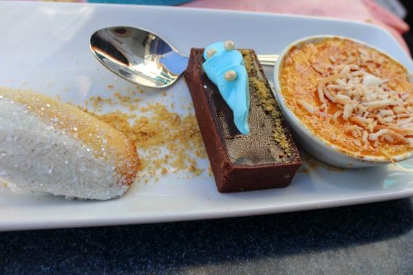 Ariels grotto desserts