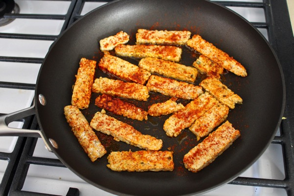 Blackened tempeh