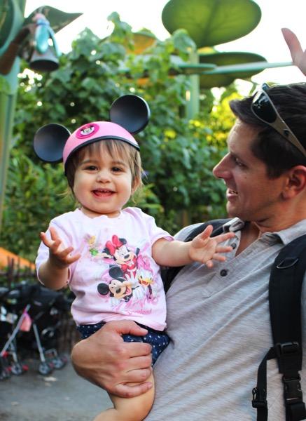 P at Disney with Pilot