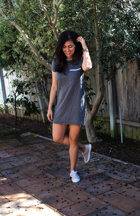 Gret pocket tee dress