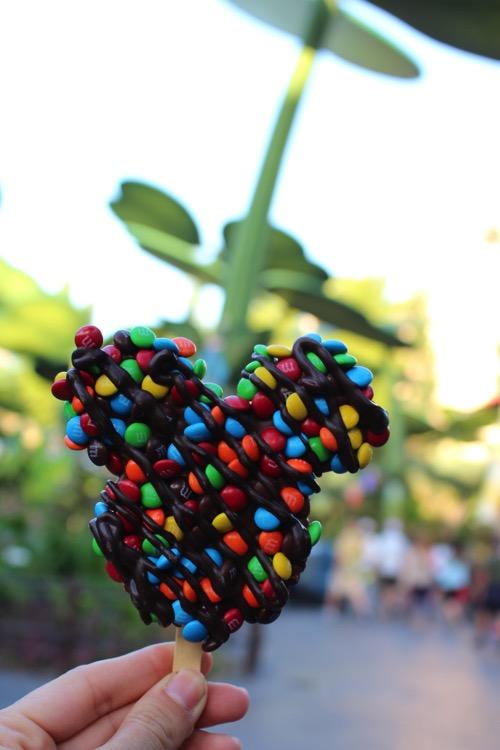 Mickey crispy treat