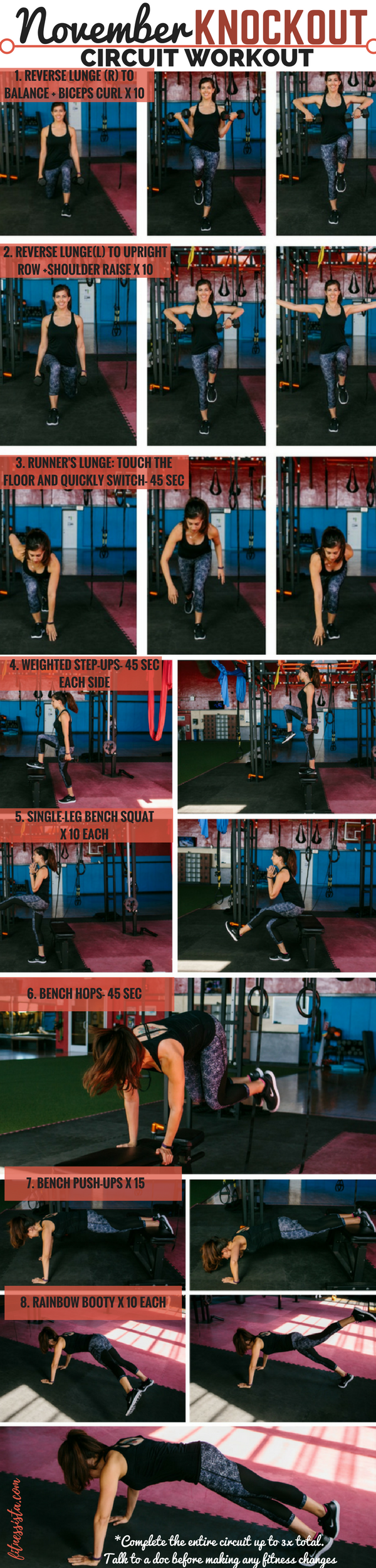 November Knockout Circuit Workout