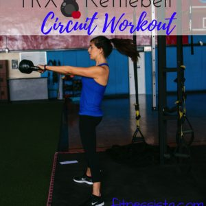 An intense and effective TRX and kettlebell combo. This workout combines strength and cardio, with an emphasis on lower body. This is perfect for the next time you need gym inspiration. fitnessista.com