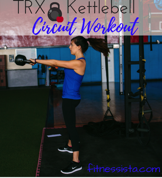 Trx and kettlebell circuit workout