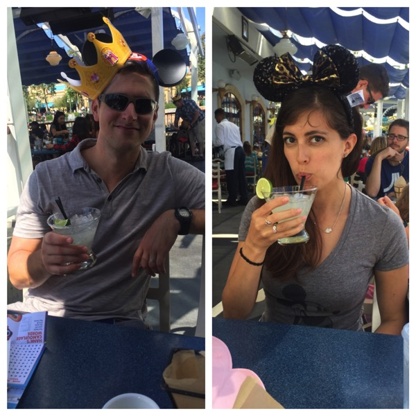 Adults drinks at Ariel's Grotto