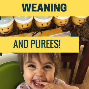 Not sure how to combine purees and baby-led weaning? Here are some of the things that worked for us! fitnessista.com