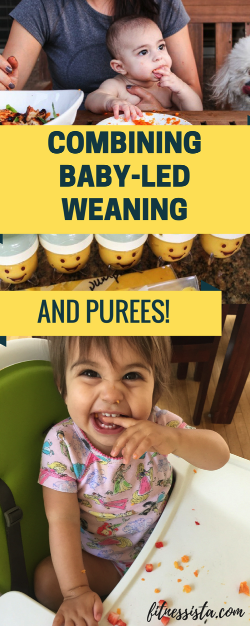 Combining Baby-Led Weaning with Purees