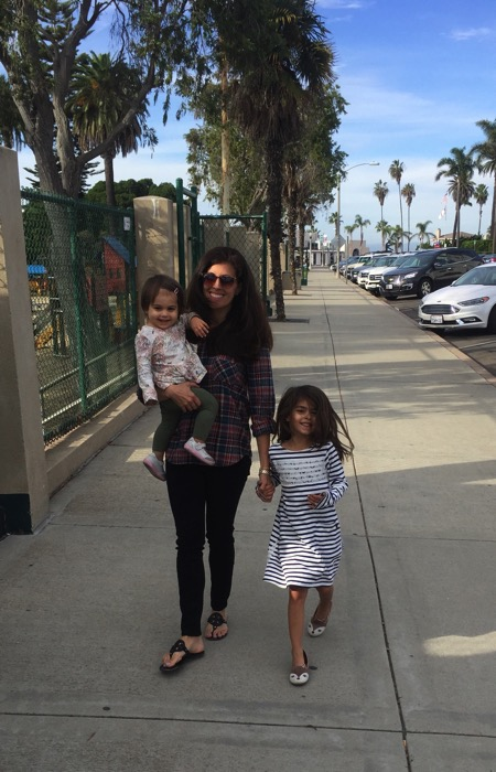 walk with the girls