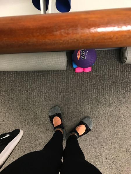 Barre feet