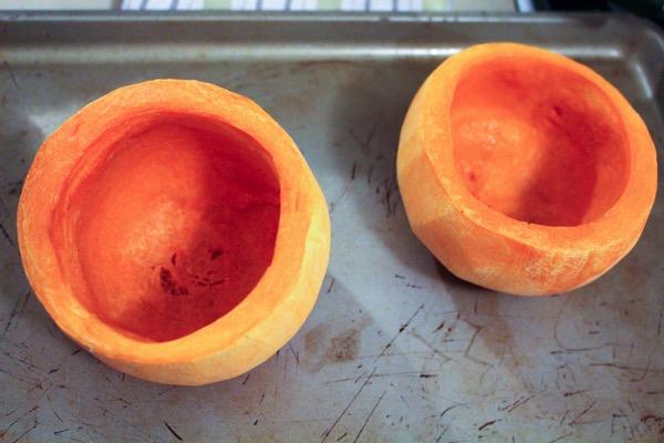Butternut squash bowls