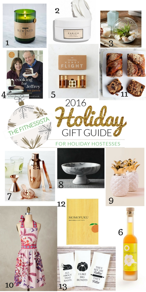2016 gift guide for holiday hostess