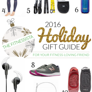 2016 holiday gift guide for fitness lovers! fitnessista.com