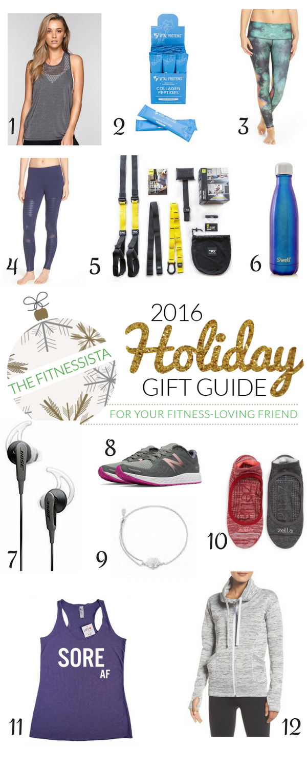 2016 holiday fitness gifts