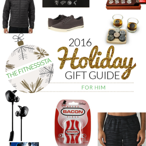 Gift ideas if you're stumped on what to buy the men in your family this year! Lots of fun ideas here. fitnessista.com